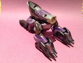 CV.Adpart01(Shockwave/Bludgeon) in White Strong & Flexible Polished