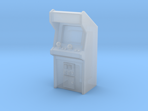 Arcade Machine (Plastic/Metal), 35mm in Smooth Fine Detail Plastic