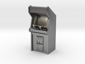 Arcade Machine (Plastic/Metal), 35mm in Natural Silver