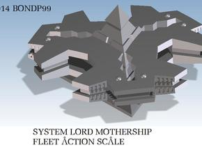 System Lord Mothership in White Natural Versatile Plastic