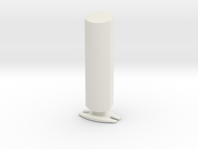 Printle  Thing Home Speaker 1/24 in White Natural Versatile Plastic