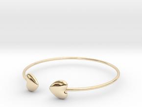 Everything heart bracelet in 14K Yellow Gold