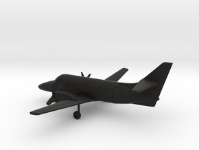 British Aerospace Jetstream 31 in Black Natural Versatile Plastic: 1:200
