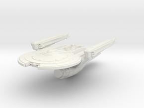 """Carter Class Patrol Cutter   3.2"""" in White Natural Versatile Plastic"""