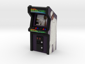 Deadly Games Arcade Game, 35mm Scale in Full Color Sandstone