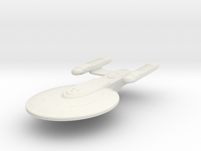 1/7000 Korolev Heavy Cruiser - solid - WSF in White Natural Versatile Plastic