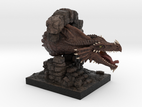 Dragon in Full Color Sandstone