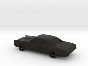 Pontiac GTO 1966 in Black Natural Versatile Plastic: 1:48