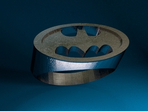 Batman Ring in Stainless Steel