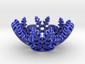 Snow Bowl in Gloss Cobalt Blue Porcelain