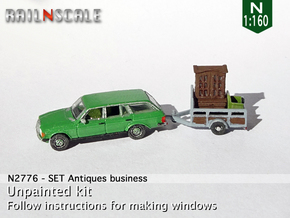 Antiques business (N 1:160) in Smoothest Fine Detail Plastic