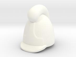 Baden Infantry Helmet in White Processed Versatile Plastic