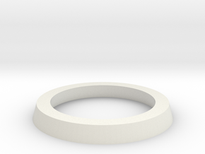 25mm to 32mm Adapter Ring in White Natural Versatile Plastic