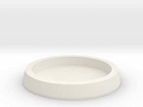 25mm to 32mm Insert Adapter in White Natural Versatile Plastic