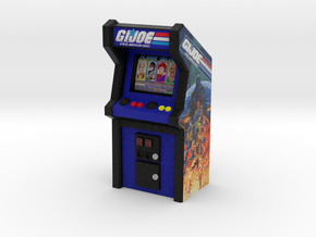G.I.Joe Arcade Game, 35mm Scale in Full Color Sandstone
