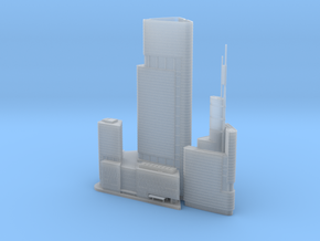 Zifeng Tower (1:2000) in Smooth Fine Detail Plastic