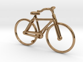 Bicycle Jewel in Polished Brass