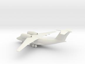 Antonov An-74 Coaler in White Natural Versatile Plastic: 1:200
