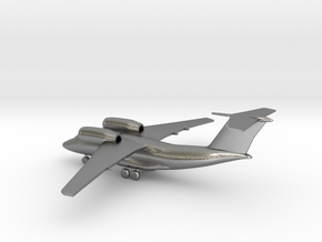 Antonov An-74 Coaler in Natural Silver: 1:285 - 6mm