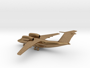 Antonov An-74 Coaler in Natural Brass: 1:285 - 6mm