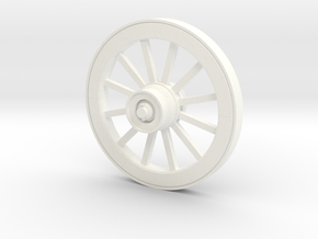 Wagonwheel HD 51in-18-01 in White Processed Versatile Plastic