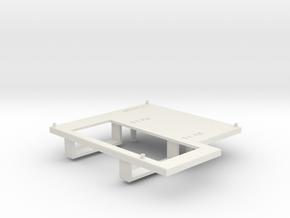 Platform Standalone Replacement for DeAgo Falcon in White Natural Versatile Plastic