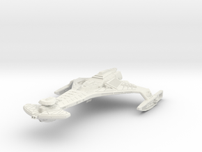 D24 Predator VI Refit  BattleCruiser in White Strong & Flexible