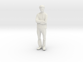 Printle C Homme 585 - 1/24 - wob in White Natural Versatile Plastic