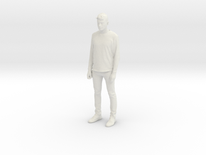Printle C Homme 606 - 1/24 - wob in White Natural Versatile Plastic