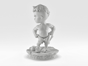 Little Hulk in White Natural Versatile Plastic