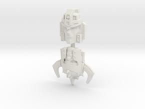 Jetstrike Face 2-Pack (Titans Return) in White Natural Versatile Plastic