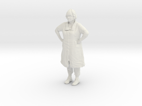 Printle C Femme 168 - 1/32 - wob in White Natural Versatile Plastic
