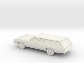 1/87 1971 Ford LTD Station Wagon in White Natural Versatile Plastic