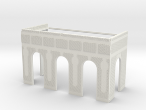 NGG-BVH01a - Large modular train station in White Natural Versatile Plastic
