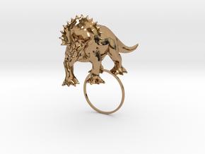 TriX [DinoSour Serie] in Polished Brass