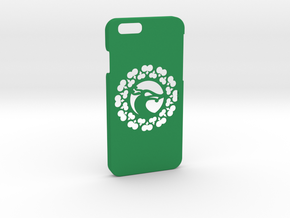 iPhone 6 Case, Historical Viking Wolf Head in Green Processed Versatile Plastic