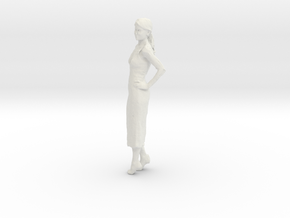 Printle C Femme 136 - 1/43 - wob in White Natural Versatile Plastic