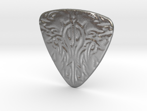 Tribal Pick in Natural Silver