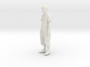 Printle C Homme 076 - 1/43 - wob in White Natural Versatile Plastic