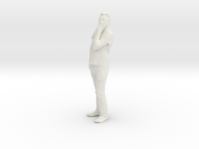 Printle C Homme 087 - 1/43 - wob in White Strong & Flexible