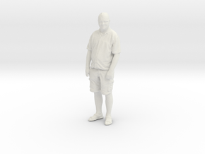 Printle C Homme 086 - 1/43 - wob in White Natural Versatile Plastic