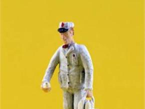 O Milkman Delivery with Milk Figure in Smooth Fine Detail Plastic