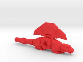 BMOG Synaxid, Dimetrodon/Axe in Red Processed Versatile Plastic