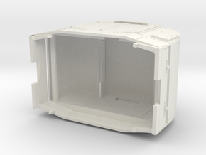 B-1-48-armoured-simplex in White Natural Versatile Plastic