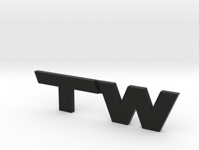 TacomaWorld Emblem in Black Strong & Flexible