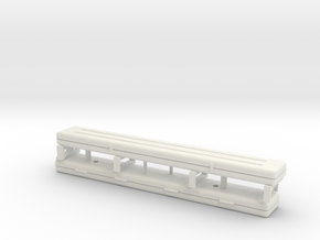 1/16 scale Whirbelwind, 2cm Flak 30/38 barrel box in White Natural Versatile Plastic