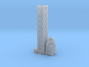 Princess Tower (1:2000) in Smooth Fine Detail Plastic