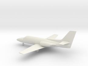 Cessna 500 Citation I in White Natural Versatile Plastic: 1:72