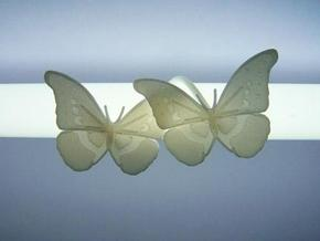 Butterfly Light Shade in White Natural Versatile Plastic