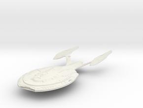 Bismark Class  BattleShip in White Strong & Flexible